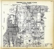 Township 29 N. Range 5 E.W.M., Everett, Lake Stevens, Smiths Island, Riverside Garden, Snohomish County 1927